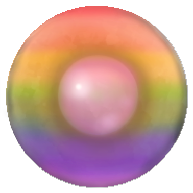 Just a Nipple Rainbow