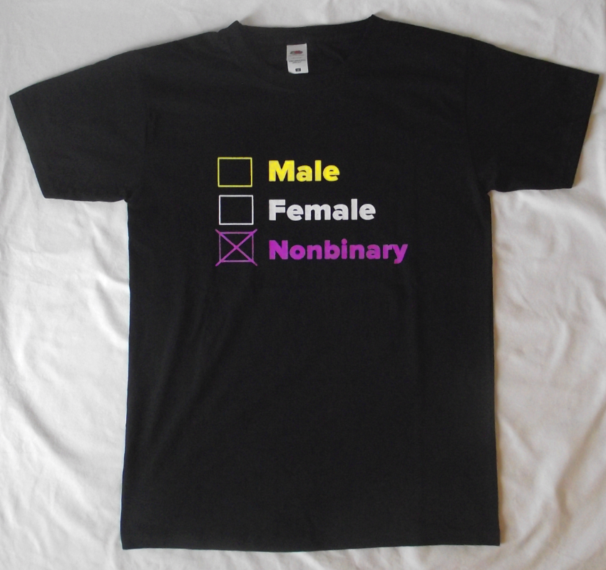 Male Female Nonbinary