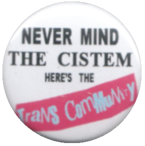 Never Mind the Cistem, Here's the Trans Community