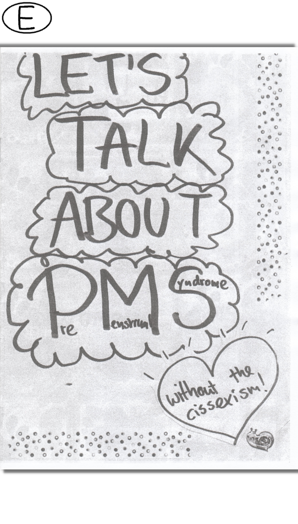 Let's talk about PMS