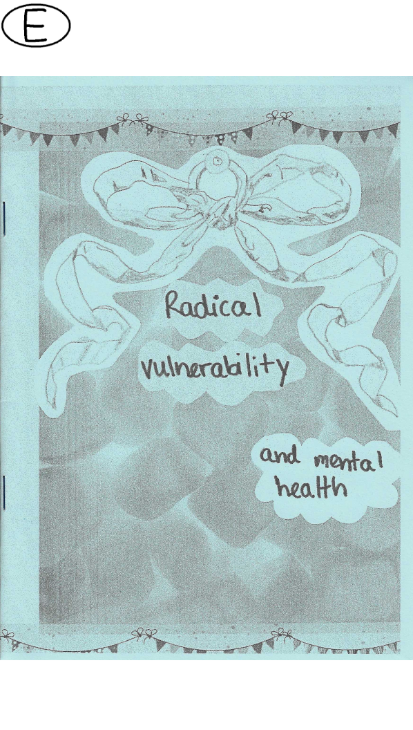 Radical vulnerability and mental health